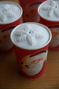 Paper Cup Christmas Cakes