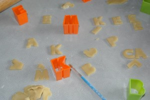 how to stop pastry sticking to baking tray