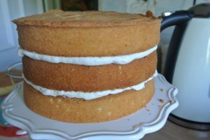 Victoria Sandwich Inside Surprise Cake 046