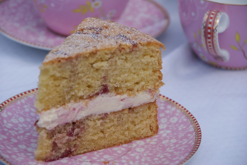 Lemon Raspberry Ripple Cake Recipe