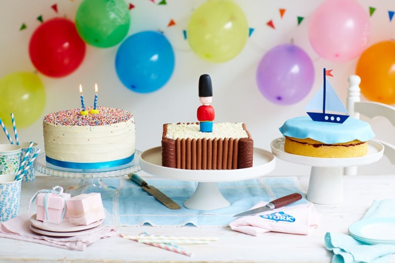 Easy Childrens Birthday Cakes Baking Recipes and Tutorials The