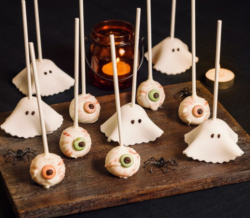 Halloween Cake Pops Baking, Recipes and Tutorials - The ...