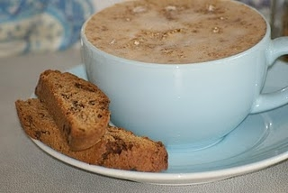 Chocolate and Chai Biscotti