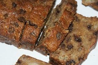 Chocolate & Banana Loaf Cake