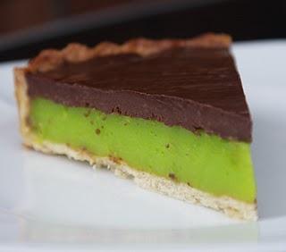 Chocolate and Lime Tart