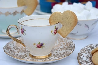 Wedding Tea Cup Biscuits